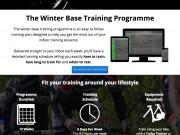 Cycling Winter Base Training Plan